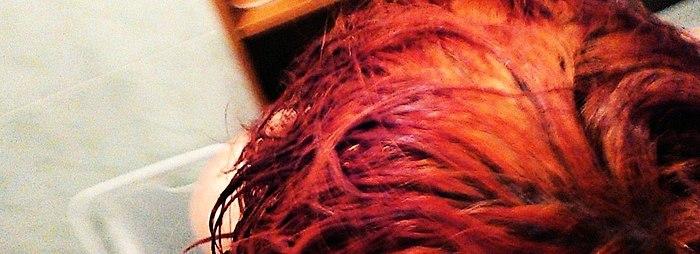Henna na jasnych włosach - kolor jasny za małe pieniądze. Porady,zdjęcia przed/po/przez 3 dni