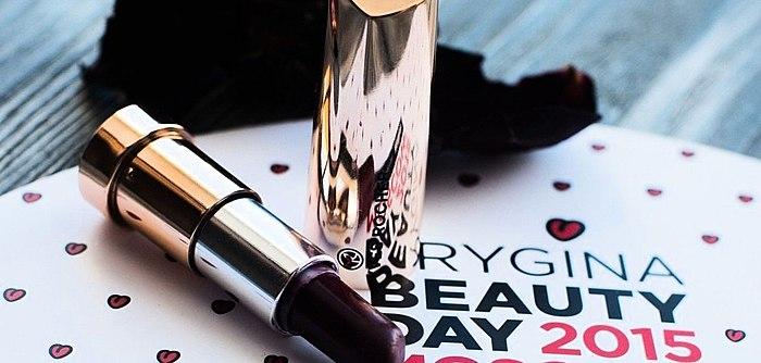 Lippenstift Yves Rocher Grand Rouge im Farbton 23 violet profond. Ich weiß nicht warum, aber mit Ihr fühlt man sich sofort femme fatale, so Brutal Dame))) Foto.