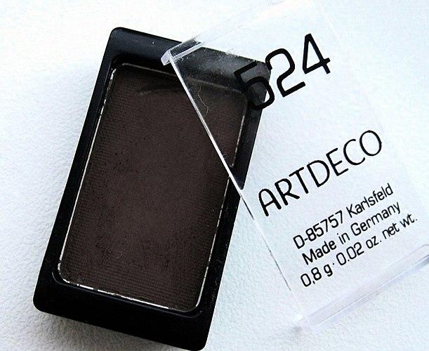 Meus mais pigmentadas e de qualidade sombra de mass-market! Universal FOSCO tom de sombra ArtDeco nº 524 (+ a FOTO do meu SMOKEY, o olho de Gato)