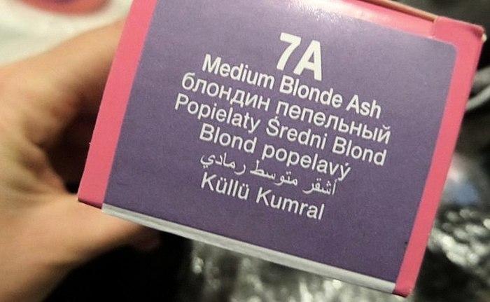 Ce que j'ai reçu avec 7A et 7AV blond cendré +photo