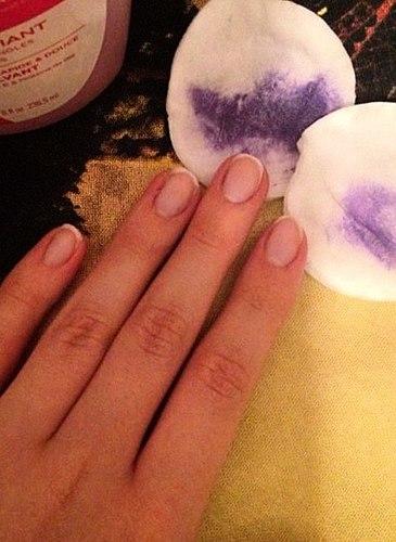 最愉快的使用液体指甲油清洗剂、没有工作的完美!)