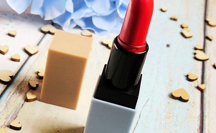 Sa usa ka dako nga matte lipstick MOART Velvet Lipstick sa T04 Andam na nga Mamatay. Panagana, nga aplikasyon, kalig-on, sa paghimo sa-up remover, ug uban pa.