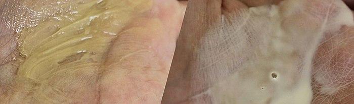 Eng vun de beschten Masken fir d ' Befeuchtung an Ernierung vun der Haut)