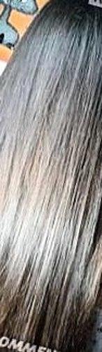 Büyükanne yayımladı onurlu bir maske! Ama bilmeniz gereken dezavantajları hakkında) Sonuç uzun saç + tam ayrıştırma kompozisyon (fotoğraf bir çok saç)