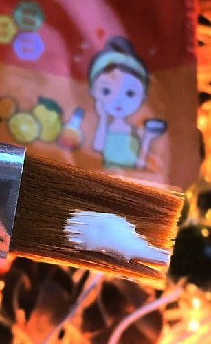 Who said that the glue hurt your skin?/What is the glue-PVA taste-will tell Korean miniature mask-Shinetree./ What is actually in the compositions of Korean promising masks?