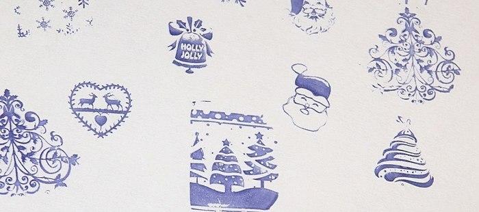 Najpoželjnije disk zime - moja snježna šarm! Foto samog zimsku manikuru