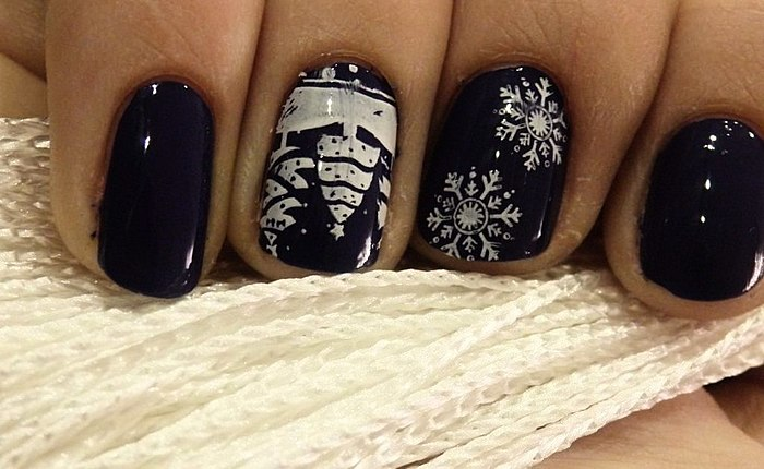 The most desirable drive-winter - snow my lovely! Photo of the winter manicure