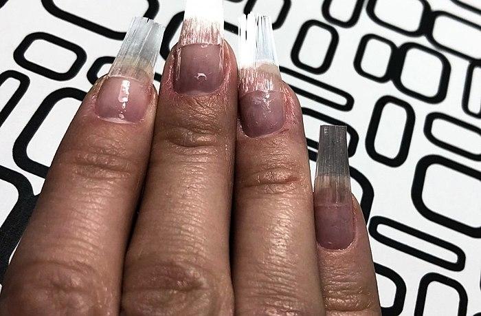 能力的玻璃纤维F.O.X光纤钉子。 如何使用材料和什么是你的错误是可以避免的