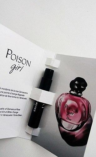 Jeśli to trucizna, t o on cudownie przyjemny! Moja znajomość z Poison Girl Diora.