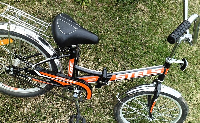 Teen bike STELS PILOT 310. Convenient to carry! Easy to store!