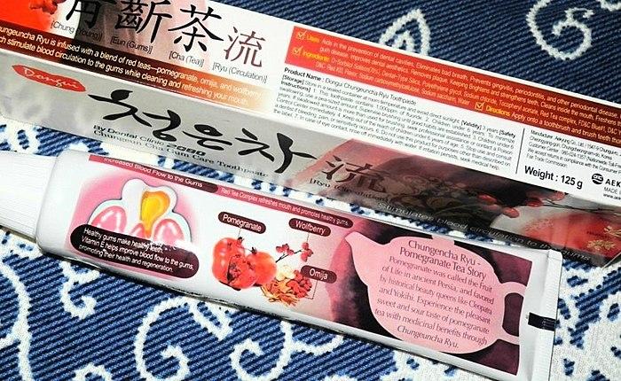 Oost-rode thee is mijn favoriete tandpasta door 2080
