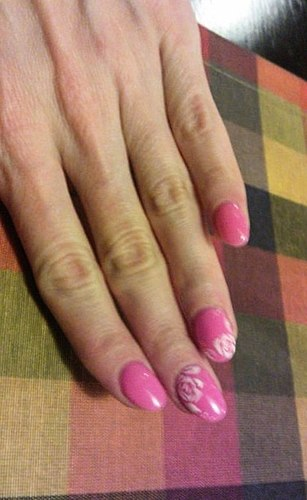 BEAUTIFUL nails always, as long as graft and HORRIBLE nails after removal (PHOTOS)