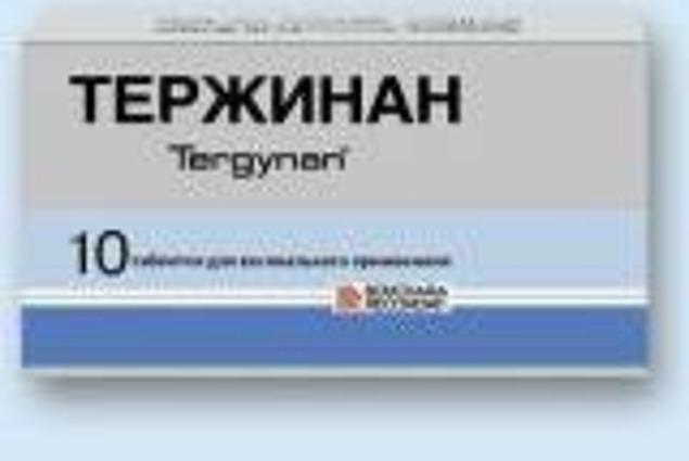 Antimikrobni lijekovi Тержинан Komentari