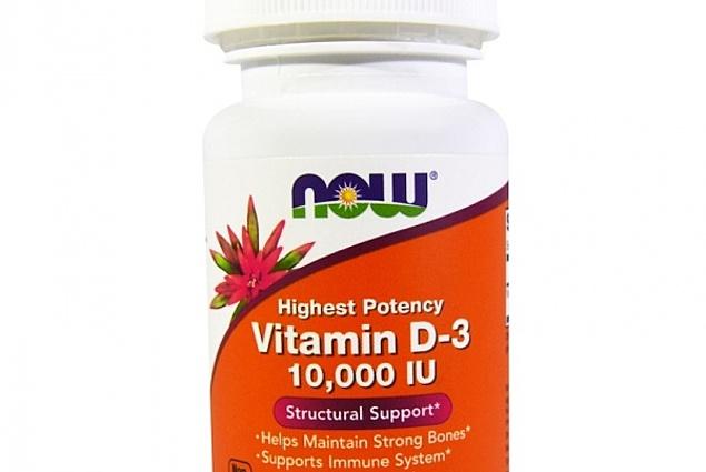 SLECHTE Now Foods Vitamine D-3 10000 IU  Beoordelingen