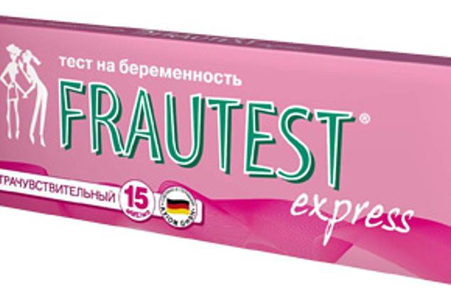 Zwangerschapstests Frautest / Frautest Express Beoordelingen