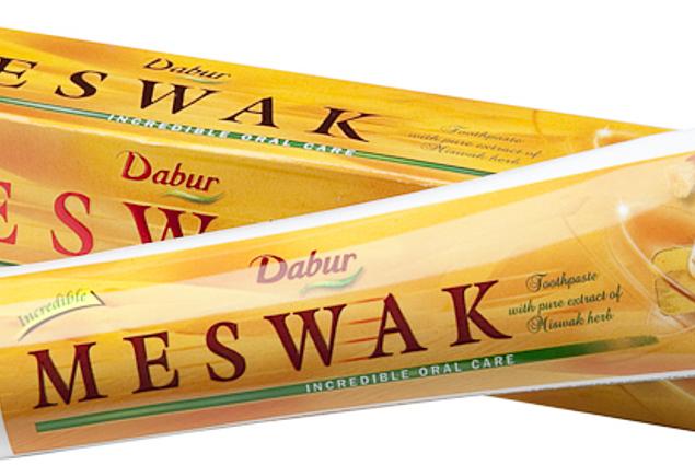 ยาสีฟัน Dabur Meswak การตรวจทาน