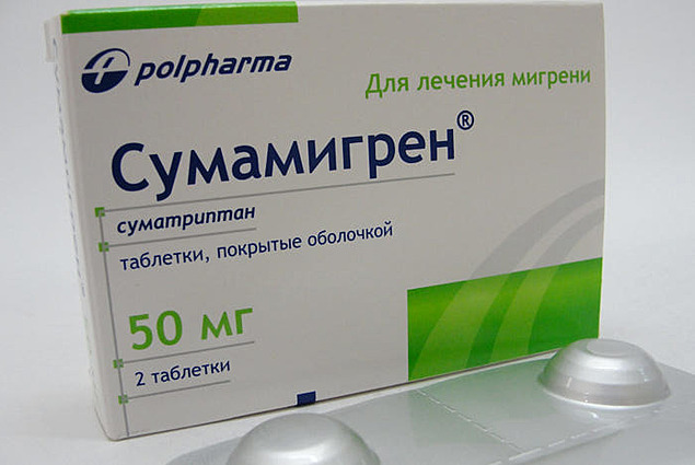 Painkillers Pharmaceutical Works POLPHARMA, SA Sumamigrain Recensioni