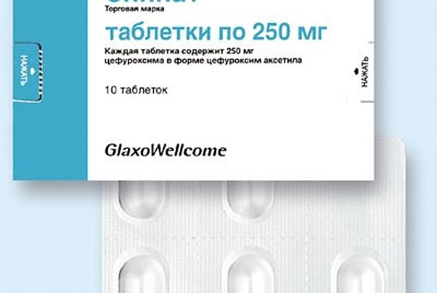 Zinnat antibiotika  Recensioner
