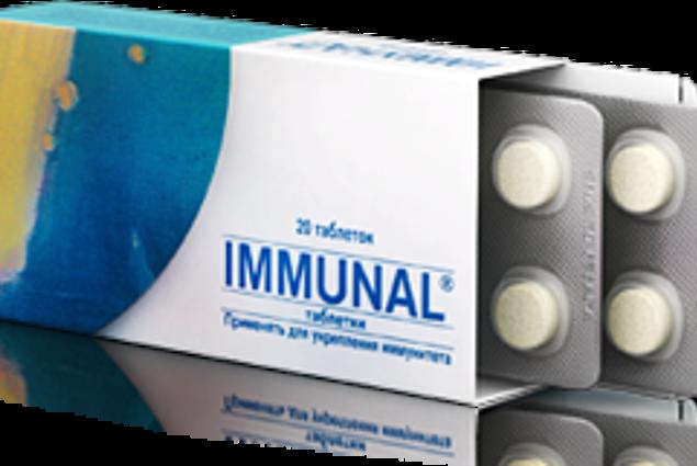 Ανοσορρυθμιστικά φάρμακα Lek Immunal δισκία Κριτικές