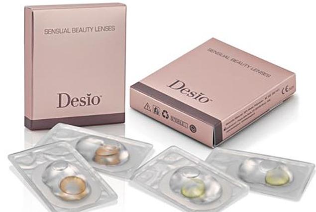 Kontaktlinsen farbig Desio  评论
