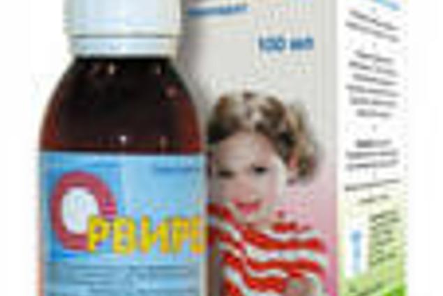 Antivirová činidla Corporation Olifen Orvirem CJSC, sirup pro děti 0,2% fl 100 ml Recenze
