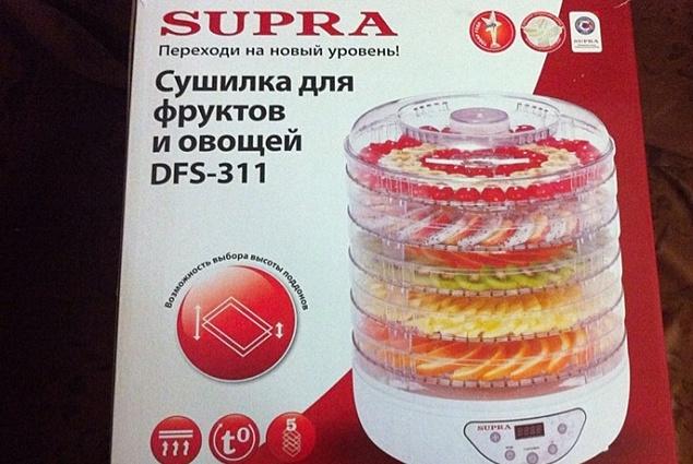 Elektrický sušič pre zeleninu a ovocie, Supra DFS-311 Recenzie