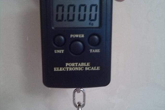秤载电动1个40公斤x20g挂行李子携带数字的体重秤直销 评论