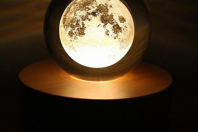 لامپ LED روبوون ماه در شیشه نظرات