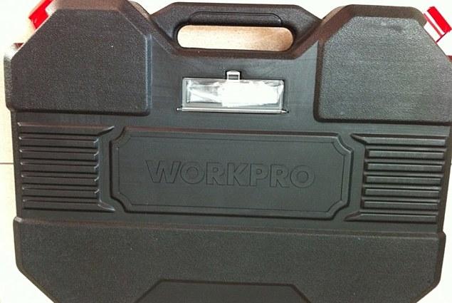 Một bộ công cụ Trang-miễn Phí-Vận-WORKPRO-123 Mảnh SOCKETocket-Set Đánh giá