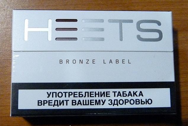Tongkat Tembakau untuk Label Perunggu IQOS Philip Morris Heets חוות דעת