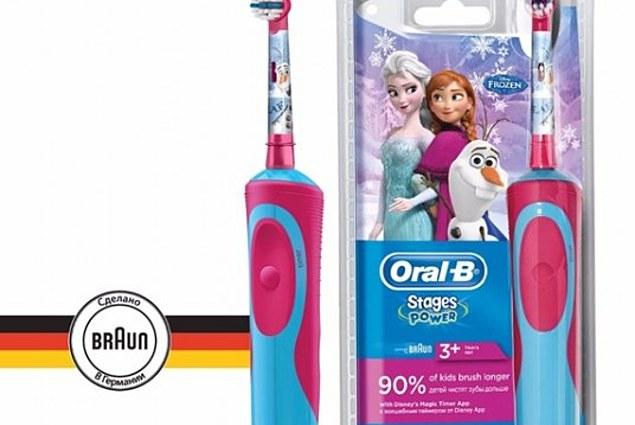 Fëmijët e furçë dhëmbësh elektrike Oral-B Vitalitetin e Ngrirë Komente