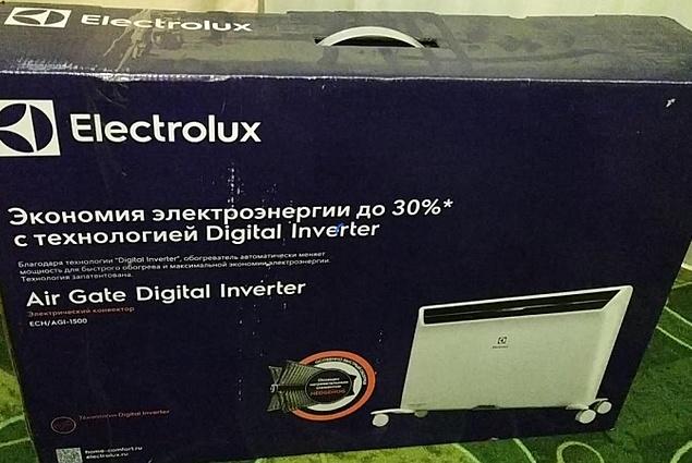 Convector Electrolux ECH / AGI-1500 (Inverter) Reviews