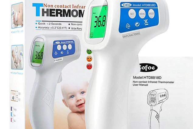 Инфрацрвен термометар Безконтактни Aliexpress Cofoe HTD8818D Коментарите