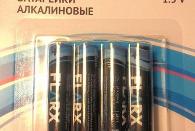 Piles Flarx Fix Price Flash AAA alcalines 4 pièces RL03 1,5 V  Commentaires