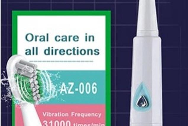 ელექტრო კბილის Aliexpress AZDENT AZ-06 მიმოხილვა