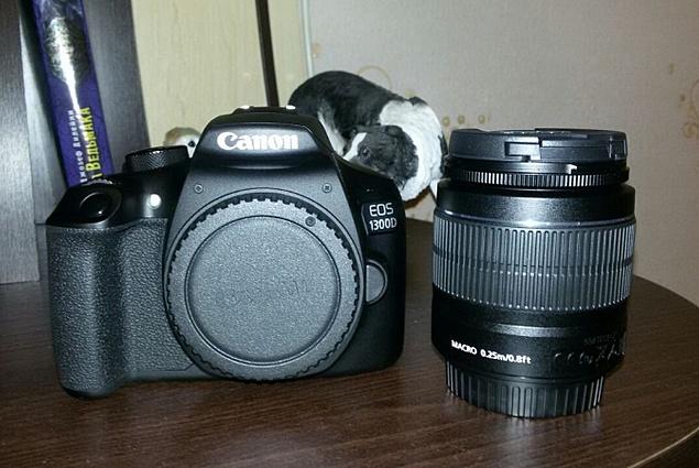 Canon EOS 1300D Kit Komentari