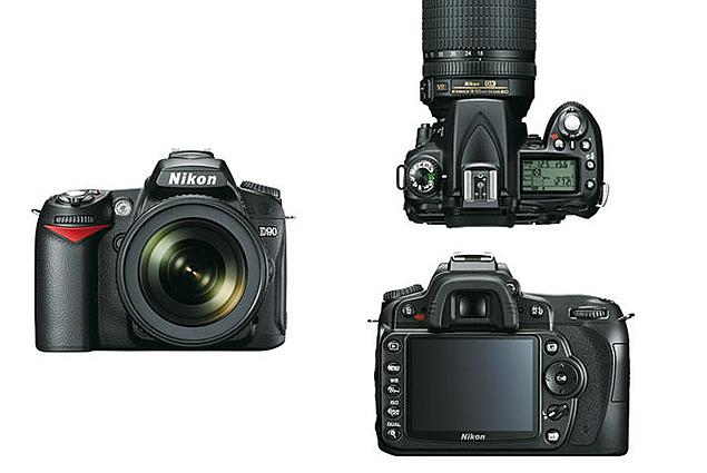 Nikon D90 คิท 18-105 VR การตรวจทาน