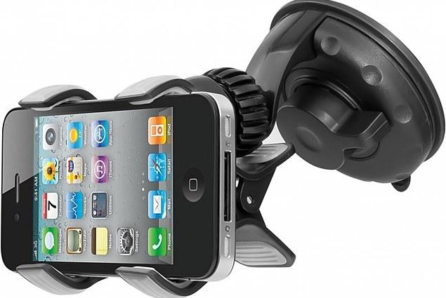 """支架对于智能手机和导航设备普遍的""""衣夹""""AVS舒适一个-2224 评论"""