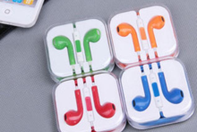 Слушалки Aliexpress 100% нови слушалки за слушалки со слушалки со микро и контрола на јачината на звукот за iphone 5 за ipad мини Коментарите