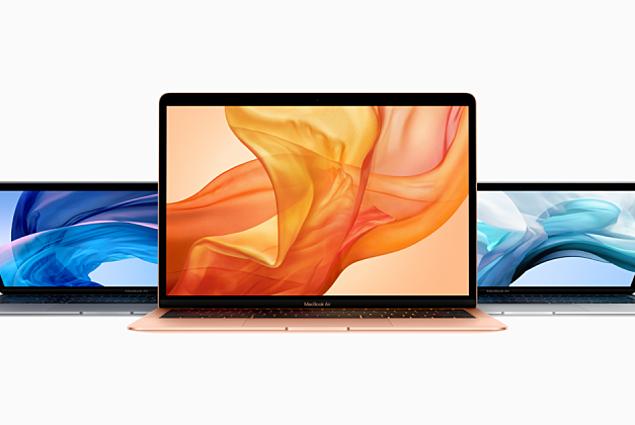 โน๊ตบุ๊ค Apple Mac Book Air 2018 การตรวจทาน