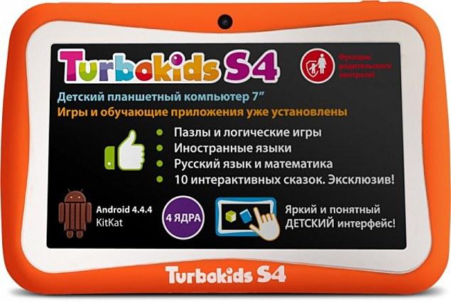 الاطفال قرص TurboKids S4 استعراض