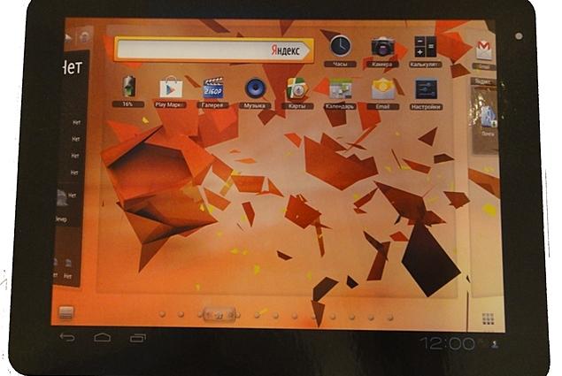 TEXET TM-9767 Tablet استعراض
