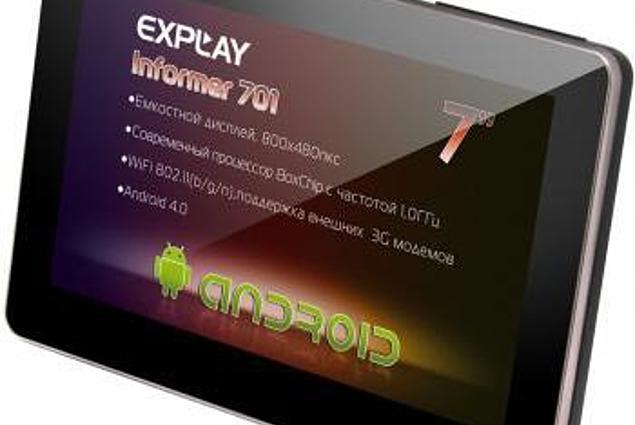 Explay Informer 701 Tablet استعراض