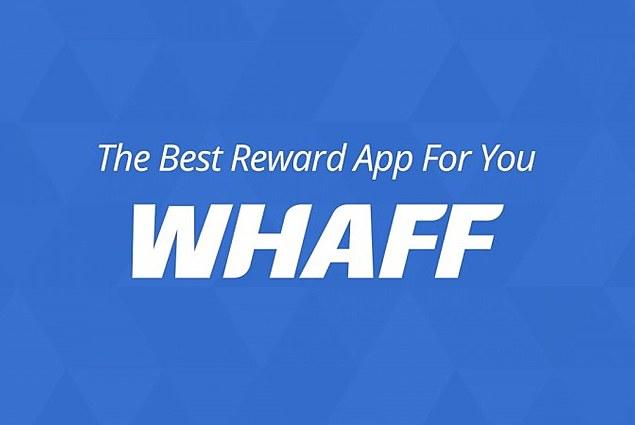 برنامج الكمبيوتر مكافآت WHAFF استعراض