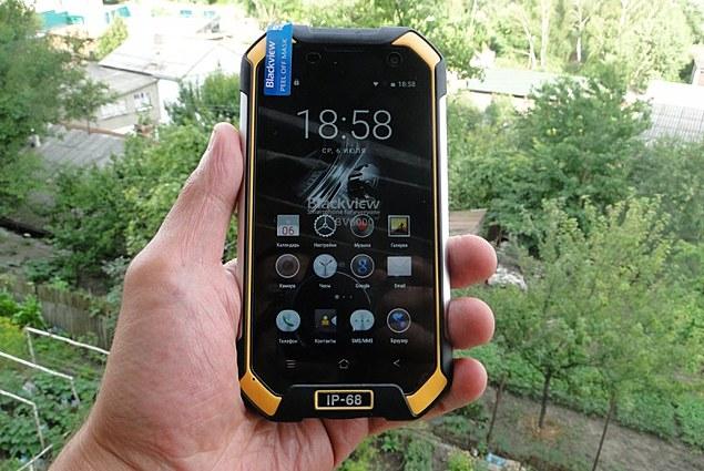 Telefon komórkowy Blackview BV6000 Komentarze