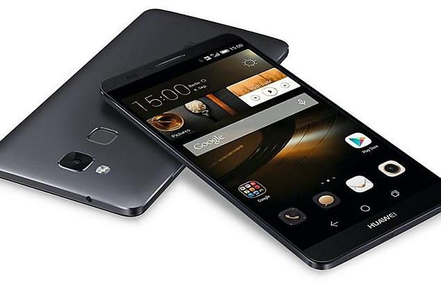 คน\N Smartphone Huawei เกียรติ 7 การตรวจทาน