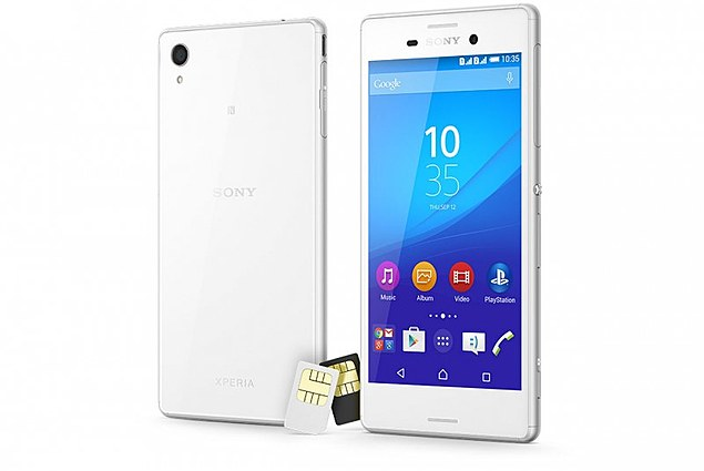 携帯電話Sony Xperia M4 Aqua Dual レビュー