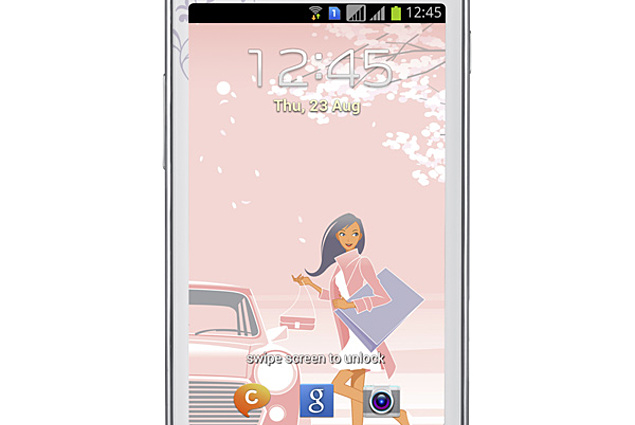 Samsung Galaxy S Duos La Fleur GT-S7562 Recenzie