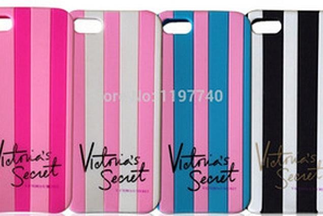 Cilik kanggo telpon seluler Aliexpress Victoria dadi Rahasia PINK Account Anyar Werna Luxe Alus karet Belang silikon Tutup Cilik Kanggo Apple Iphone 4 4s 4g/5 5s 5g 7 Werna!! Reviews