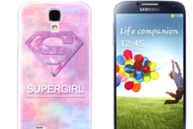 """لوحة الخاص بك في Aliexpress بالجملة وصول جديد كارتون Hard Case Cover For Samsung Galaxy S4 SIV I9500 الحالات الشحن مجانا """"سوبر فتاة"""" XSYX214 استعراض"""